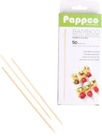Pappco Greenware Disposable Bamboo Roast Fork