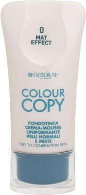 Deborah Colour Copy Foundation Oily to Combination Skin Foundation Shade - 0