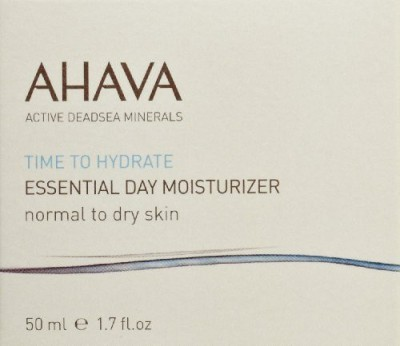 Ahava Foundations Ahava Time to Hydrate Essential Day Moisturizer for Normal to Dry Skin, 1.7 fl. oz. Foundation