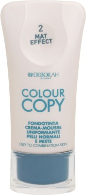 Deborah Colour Copy Foundation Oily to Combination Skin Foundation Shade - 2
