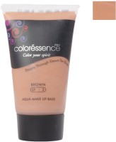 Coloressence Aqua Makeup Base Foundation (Brown)
