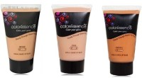 Coloressence Aqua Makeup Base Foundation (Packof3) Foundation (Beige, Pink, Brown)