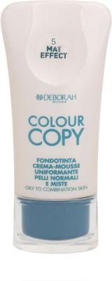 Deborah Colour Copy Foundation Oily to Combination Skin Foundation Shade - 5