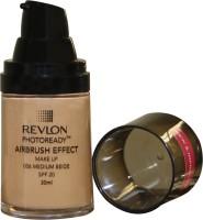 Revlon Photo Ready Air Brush Effect Make Up Spf 20 - Medium Beige Foundation (Medium Beige)