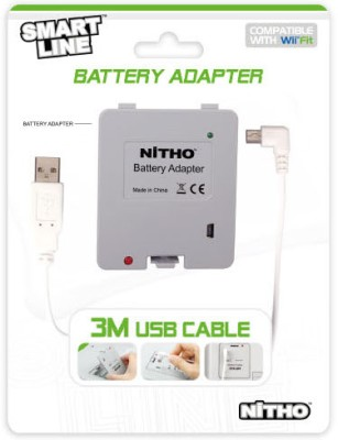 Buy Nitho Fit Battery Adapter Wii: Gaming Adapter