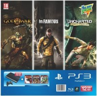 Sony PlayStation 3 Holiday Bundle (Includes 3 Games)