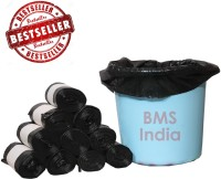 BMS India LDPE (180 Bags) Small 5 - 7 L Garbage Bag (Pack Of 30)