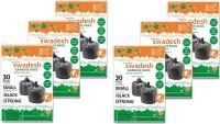 Swadesh Premium Trash Medium 15-20 L Garbage Bag (Pack Of 6)