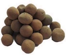 A Bonsai Clay Ball for Garden Mulch