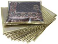 Ruhi's Creations 1 Saree Cover - Set Of 10 RH000101020 Golden