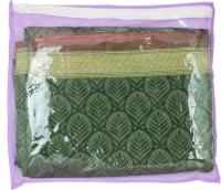 Mpkart Saree Bag Mpkart Purple Pack Of 24 Saree Cover Zip Synthetic Purple Medium Utility Bag CM30 Purple