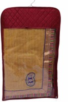 Kuber Industries Designer Hanging Designer Saree Cover - 12pcs MKU018 Maroon