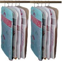 Indi Bargain Kota Doria Combo Of 10 Floral Single Saree Cover Multicolor