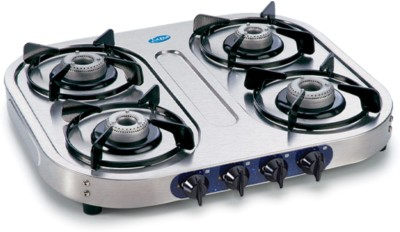 GL-1041 SS AL 4 Burner Gas Cooktop