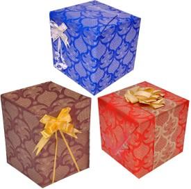 Star Festival Spirit Combo Reversible Italian Paper Gift Wrapper