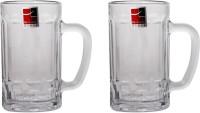 Hi Luxe Britania Beer Mug Hl - 30001 (560 Ml, Clear, Pack Of 2)