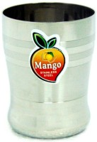 Mango Steel Glass Set Of 6 Pcs. Pulsar10 (300 Ml, Silver, Pack Of 6)