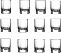 Pasabahce GP/ SHOT TANGO LIQUER GLASS (65 Ml, Clear, Pack Of 12)