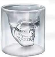 Mog Doomed Shot Glass 5406 (90 Ml, Clear, Pack Of 1)