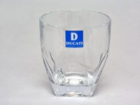 DUCATI HIGH QUALITY GLASS -4002 (250 Ml, Clear, Pack Of 6)