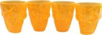 Toygully Skull Shot Glasses/Yellow - Glows In Dark-628 (50 Ml, Orange, Pack Of 1)