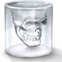 Home Union Doomed Skull Shot Glass - 75 Ml (75 Ml, White, Pack Of 1)