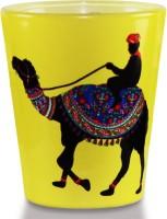 Kolorobia Desert Camel Glass Mug (60 Ml, Pack Of 2)