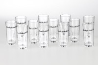 Godskitchen Pc Shot Glasses (60 Ml, Clear, Pack Of 12)
