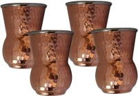 King International King-International Copper And Drinking Glass Set Of 4 Pcs KI-CG-S4-12 (250 Ml, Brown, Pack Of 4)