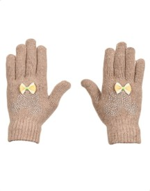 Tiekart Embellished Winter Women's Gloves