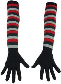 Romano Striped Protective Women's Gloves