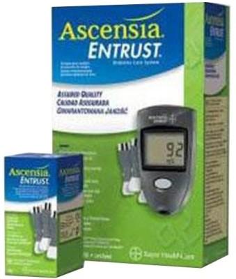 Abott Entrust Acnesia Glucose Monitor Glucometer Grey