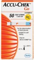 Accu-Chek Go 50 Strip Glucometer (Orange)