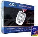 ACE Kit With 10 Strips Glucometer - White