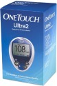 Johnson & Johnson One Touch Ultra 2 Glucose Monitor With 10 Strips Glucometer - Blue