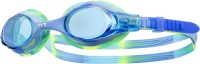 TYR Swimple Tie Dye Swimming Goggles (Blue, Green)