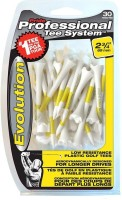 Pride Sports PTS Evolution 69 Mm Golf Tees (Pack Of 30, White)