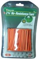 Golf Gifts & Gallery No Resistance Tees Golf Tees (Pack Of 40, Orange)