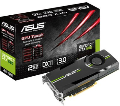 Buy Asus NVIDIA GTX 680 2 GB GDDR5 Graphics Card: Graphics Card
