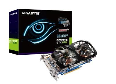 Gigabyte GTX 670 GV N670WF2 2GD