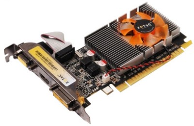 Buy ZOTAC NVIDIA Geforce GT 520 Synergy Edition 1 GB GDDR3 Graphics Card: Graphics Card