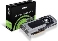 MSI NVIDIA GTX 980Ti 6GD5 6 GB GDDR5 Graphics Card (Black)