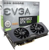 EVGA NVIDIA GeForce GTX 950 2 GB GDDR5 Graphics Card (Black)
