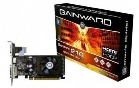 Gainward NVIDIA 1GB DDR3 GF210 1 GB DDR3 Graphics Card
