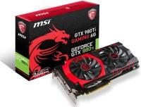 MSI NVIDIA Geforce GTX 980Ti Gaming 6g 6 GB GDDR5 Graphics Card (Black, Red)