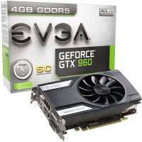EVGA NVIDIA GeForce GTX 960 4GB SC GAMING 4 GB GDDR5 Graphics Card (Black)