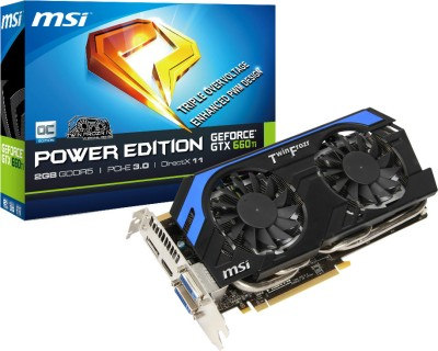Buy MSI NVIDIA N660Ti PE 2GD5/OC 2 GB GDDR5 Graphics Card: Graphics Card