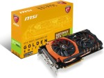 MSI Geforce Gtx 980 Ti Gaming 6g Golden Edition