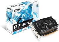 MSI AMD/ATI R7 360 2GD5 OC 2 GB GDDR5 Graphics Card (Black)