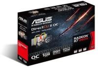 Asus AMD/ATI RADEON R7 260X DDR5 OC EDITION 1 GB GDDR5 Graphics Card (Black)
